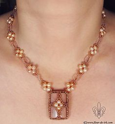 Original pink opal N915 by ~Fleur-de-Irk on deviantART