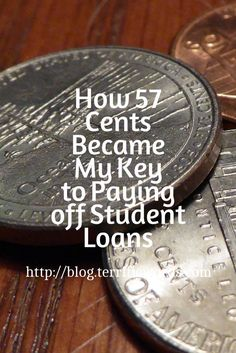 How 57 Cents Became My Key to Paying off Student Loans - Terrific Words
