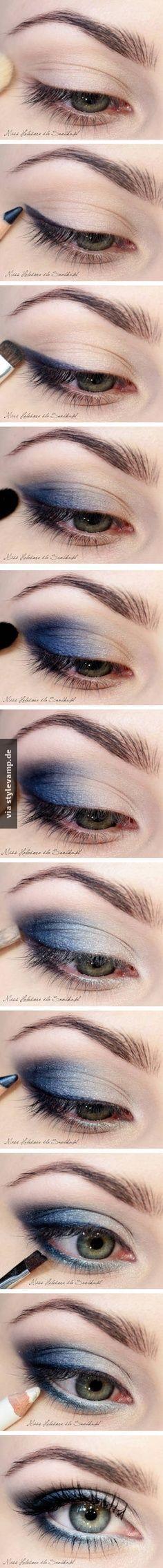 Das ist ein super Make Up, wenn es elegant aber nicht langweilig sein soll!