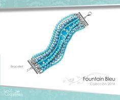 Hermoso brazalete que hará un juego perfecto con el collar Fountain Bleu. Este brazalete mide 20 cm y tiene cadenas plateadas y cuentas azules, perlas y turquesa.  www.lacoqueteria.co #bracelet #brazalete #accesories #beautiful #lacoqueteria #fashion  #shoppingonline #tiendaenlinea #mexico #accesorios #moda #monterrey #merida #vestidos #joyeria #bisuteria #boda #tendencias