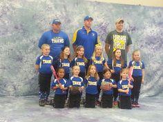Desiree's team. Leonard Lady Tigers Harless 2014.