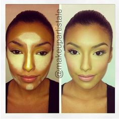 Contouring your face is one of the most important steps in #Makeup .. It helps accentuate your beautiful Features ... @makeupartistale