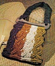 Artesanato crochê,trico,macramê da Glicia.: Lindas peças em macramé