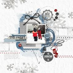 such an awesome #scrapbooking #layout from Lego at DesignerDigitals.com