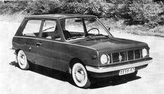 OG | Trabant 603 | Prototype from 1966 | ~ https://de.pinterest.com/johnnooter/trabant/