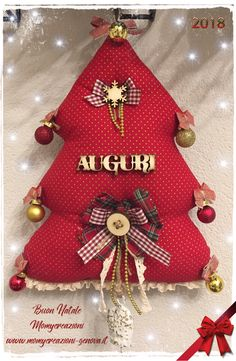 Felt Christmas Ornaments, Christmas Time, Christmas Stockings, Christmas Wreaths, Christmas Decorations, Xmas, Holiday Decor, Door Wreaths, Lily