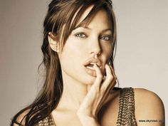 Angelina Jolie Lips Wallpaper