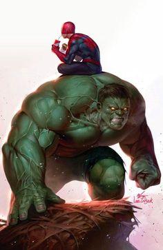 The Cult of the Wyrm — The Immortal Hulk by InHyuk Lee Marvel Comics Art, Hulk Marvel, Marvel Heroes, Captain Marvel, Avengers, Ms Marvel, Mundo Marvel, Punisher Marvel, Univers Marvel