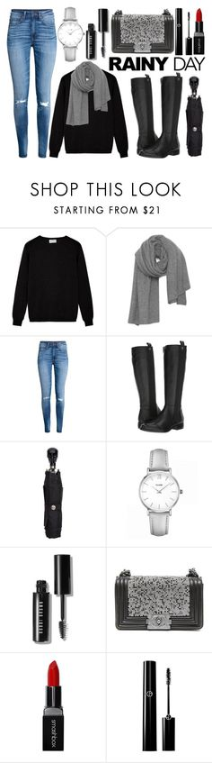 """""""Rainy Day"""" by princess13inred ❤ liked on Polyvore featuring American Vintage, Corso Como, Alexander McQueen, CLUSE, Bobbi Brown Cosmetics, Chanel and Smashbox"""