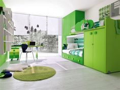i don't love green but this room it awsome!