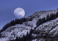 Полная Луна, Восковая Эпиляция, Настройка, Горы, Ночь