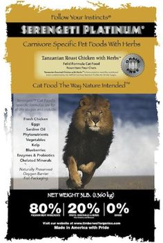 Serengeti * To view further for this item, visit the image link. (This is an affiliate link and I receive a commission for the sales) Best Cat Food, Dry Cat Food, Cat Training Pads, Cat Id Tags, Cat Shedding, Cat Fleas, Cat Memorial, Cat Grooming, Cat Health