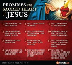 The Promises of the Sacred Heart of Jesus