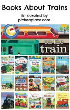 Books About Trains for Kids