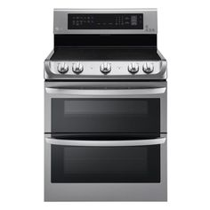 Double Oven Electric Range With ProBake Convection Oven In