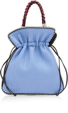 993107ff056f Les Petits Joueurs Cannete Big Trilly Pouch with Metal Piping Pouch