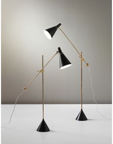 Tapio Wirkkala  Pair of standard lamps, model no. K 10-11, circa 1954