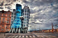 Dancing House, Prague By Ali Erturk