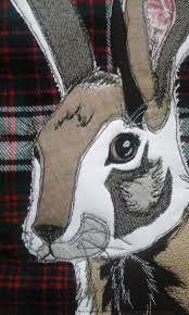 Resultado de imagen de rabbit quilt cushions
