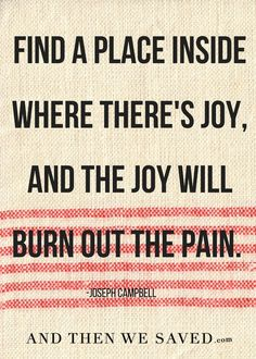 """Find a place inside"