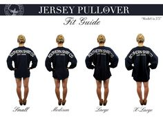 Southern Shirt Co Jersey Pullover: Fit Guide  I personally think the XL looks better on everyone