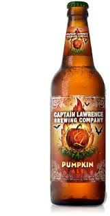 CAPTAIN LAWRENCE PUMPKIN ALE - Quite a surprise, this one, as it doesn't get all obnoxious with the pumpkin flavor - a really nice beer! This is the perfect beer to drink as the weather starts to turn a bit cooler. Brewed with pureed pumpkins added directly to the mash, and traditional pumpkin pie spices add to the end of the boil, this beer packs a ton of flavor into a malty and smooth amber colored ale. ABV: 5.5 Sampled at the at the Village Voice Brooklyn Pour event. ABV: 5% Grade-B