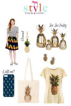 Tropical Trend: Pineapples