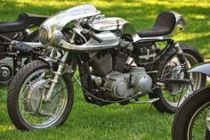 There's a certain blacksmith shop feel to Shinya Kimura's motorcycles, and I mean that in a good way. Looking at the bare aluminum bodywork of his latest creation, this cafe Harley Sportster, you get a sense of the heat and noise and sweat—the sheer effort and long hours—that went into its making. This is an…