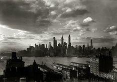 "March 15, 1933. ""New York city views. Financial district from Hotel Bossert."" The Bossert is in Brooklyn Heights.  Samuel H. Gottscho."