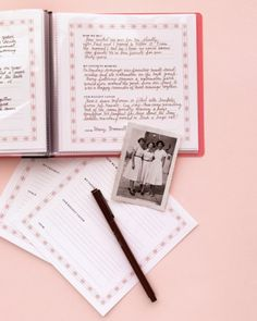 "Compiling ""remember when"" moments in an album and presenting them to a friend makes the bonds even stronger. Use our template with the headings ""How We Met,"" ""My Favorite Memory,"" and ""Our Biggest Laugh,"" or make and write your own."