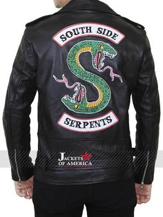 Men's Clothing South Side Serpents Leather Sleeve Hoodie Mens Casual Street Slimming Jacket Hooded Riverdale Sports Jacket Clothing Easy And Simple To Handle
