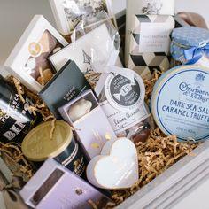 Artisan Chocolate basket for him. #gift #giftbasket   www.moderndame.com