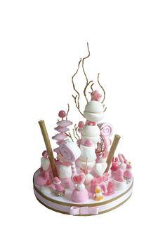 Gâteaux, pièces montées de bonbons.Un thème, des couleurs et zazacot.com réalise une création unique et originale !