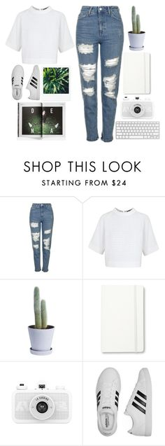 """gotta get him out my hair"" by grunge-alien ❤ liked on Polyvore featuring Topshop, Osman, HAY, Moleskine, adidas, KEEP ME and Carhartt"