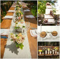 Mariage champêtre: 81 idées de décoration originales