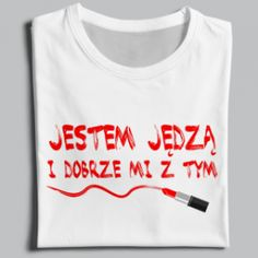 JESTEM JĘDZA I DOBRZE MI Z TYM - T-Shirt Long Sleeve Sweatshirt Hoodie For Men or Women