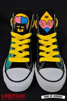 Custom Lumberjanes Shoes by Sons of Geekery