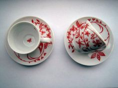 Tord Boontje - Table Stories: Espresso cup: Design. Cup. Fine porcelain. Shipping costs: Please request prices. Lead time: Please request information