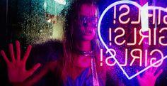 Frida Aasen: Nasty Gal X for Love & Lemons Collection 2015 The Wicked The Divine, The Wombats, Neon Noir, Neon Aesthetic, Neon Nights, For Love And Lemons, Purple Rain, Neon Lighting, Paris