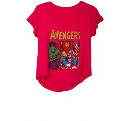 Avengers Tee ($25) via Polyvore
