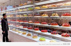 vitrine de bolos e tortas - Pesquisa Google