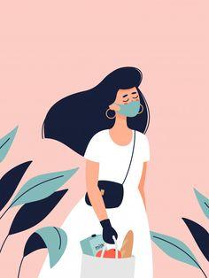 Japon Illustration, Woman Illustration, Portrait Illustration, Character Illustration, Graphic Design Illustration, Digital Illustration, Cartoon Kunst, Cartoon Art, Girl Cartoon