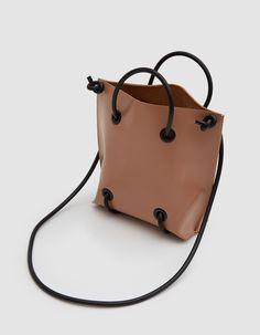 Modern shoulder bag from KOZHA NUMBERS in Tan