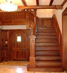 I had friends with a stairway like this, loved that old house..~