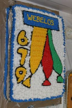 For the cub scout cake auction