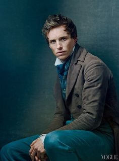 Eddie Redmayne in a Les Miserables photoshoot for Vogue.  For this, I cannot wait!  Oh Marius, I love you so...