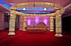 asian wedding stage