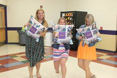 These pillows were ordered on Shutterfly and given to the seniors as year-end gifts.  They loved them!