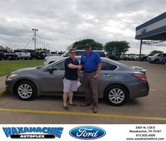 Waxahachie Ford Customer Review  Thanks David!  Aaron, https://deliverymaxx.com/DealerReviews.aspx?DealerCode=E749&ReviewId=58150  #Review #DeliveryMAXX #WaxahachieFord