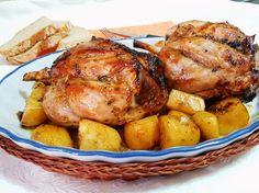 Codillo de cerdo asado a la miel | Comparterecetas.com